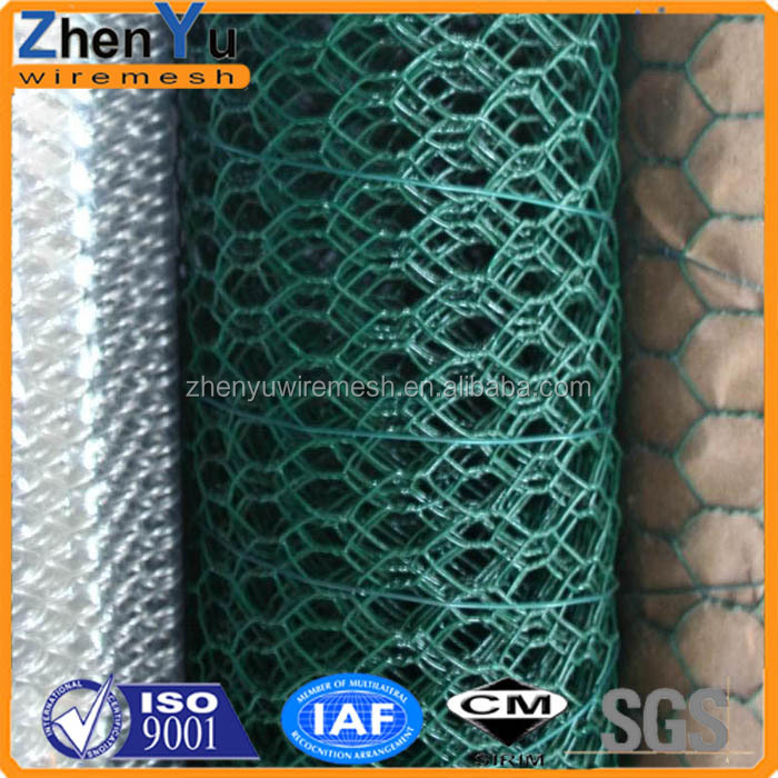 Pvc Coated Poultry Wire 1/2 Hex Mesh Chicken Wire - Buy Chicken Wire ...