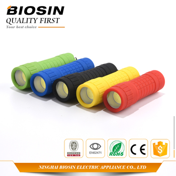 BIOSIN best choice cob waterproof abs plastic mini led flashlight torch