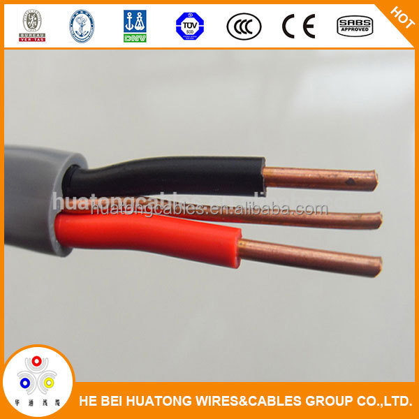 2.5mm Pvc Solid Copper House Wiring Electrical Cable Twin And ...