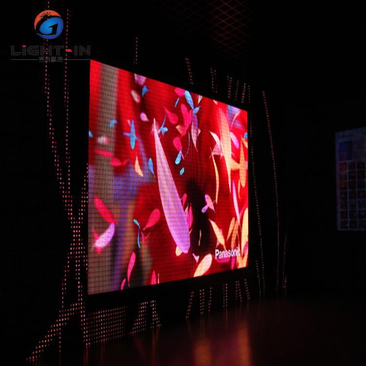 64*32 P3 RGB pixel painel HD display 192*96mm conduziu o sinal do módulo