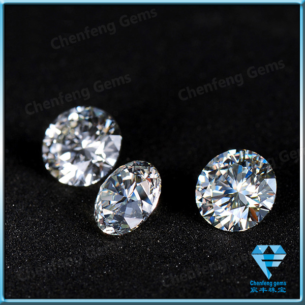 China Synthetic White Moissanite Diamond Stones With Wholesale ...