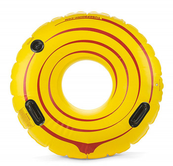 Tube Pro Yellow 48in inflatable Premium River Tube With Handles