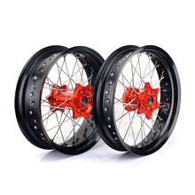 17 Inch CNC Lightweight Motorcycle Spoke Wheels For Dirt Bike KTM 250SXF
