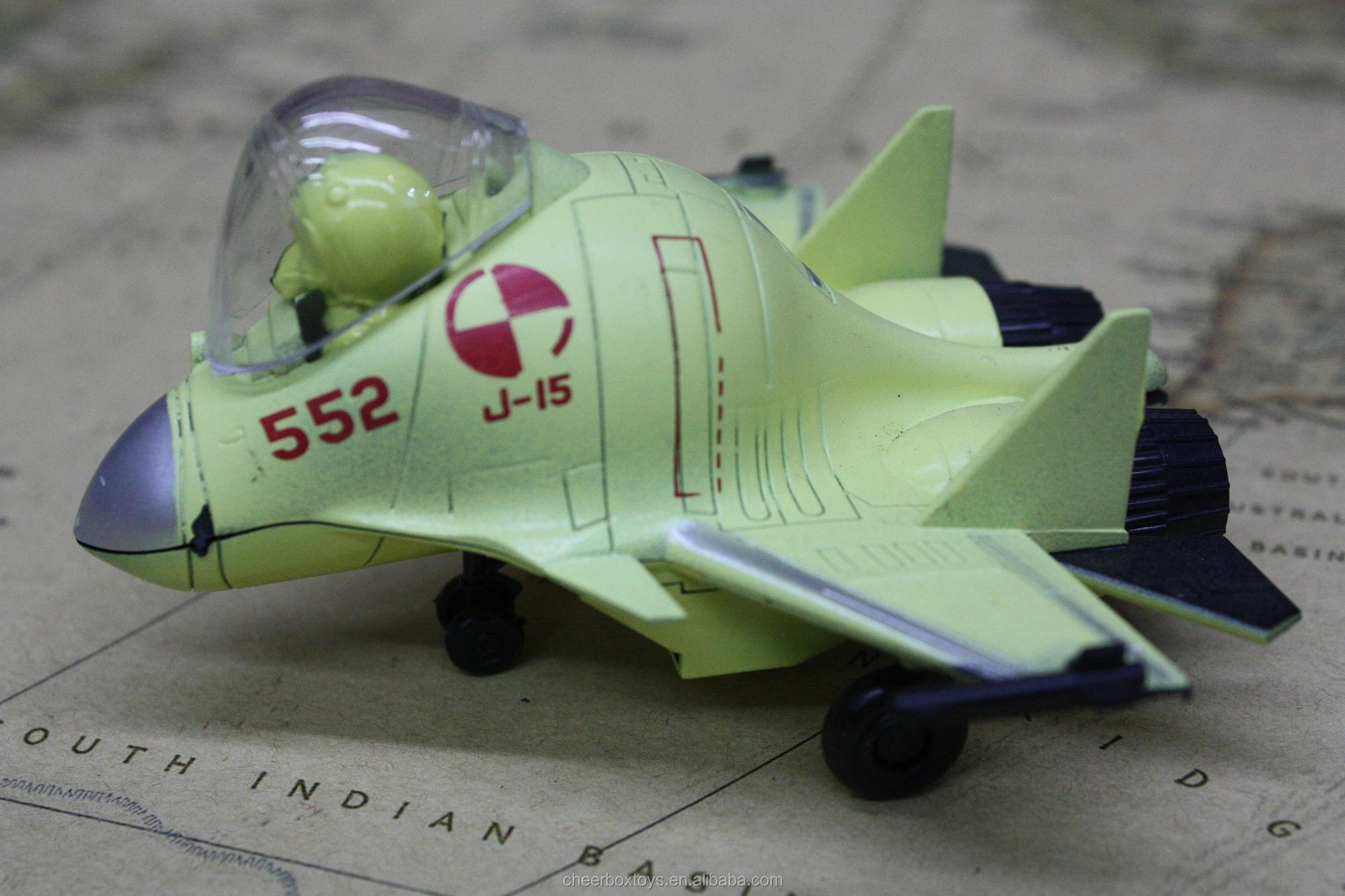 Plastic Airplane Model Kit Cute Aircraft Model Assemble toys