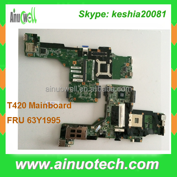 FRU 63Y1995 Laptop mainboard for LENOVO thinkpad IBM T420 T420i T420S notebook system board CPU I3 I5 I7 motherboard