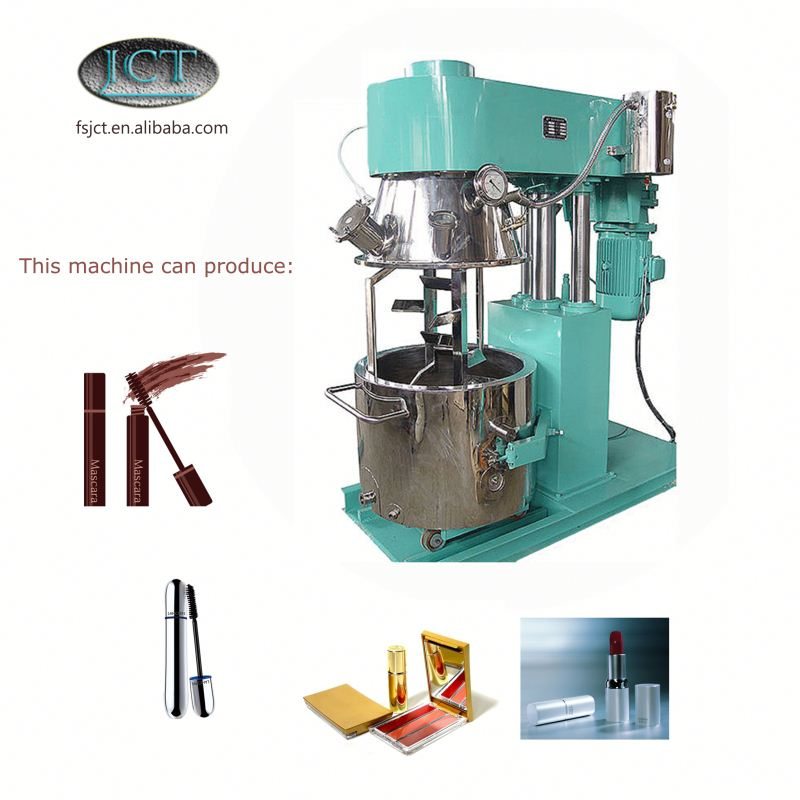JCT cosmetic cabinet making planetary mixer