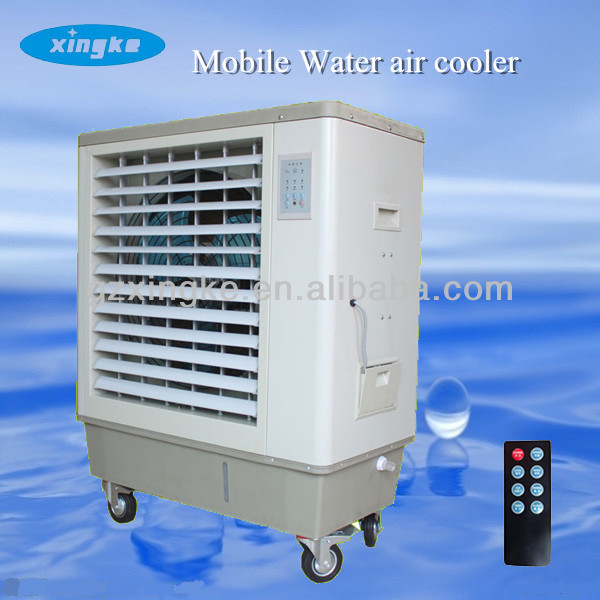 home portable coolers /indoor water cooling system/guangzhou xingke Portable powerful evaporative air cooler