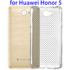 0.75mm Shock-resistant Protective Custom Cases for Huawei Honor 5, TPU Clear Back Cover for Huawei Honor 5