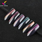Queen Shining UV/LED 3D cat eye perfect match 5d magnetic Nail gel polish matching