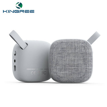 34fd255b616 2018 best selling mini portable wireless bluetooth speaker wholesale 4.1  promotional gift fabric mini portable speaker
