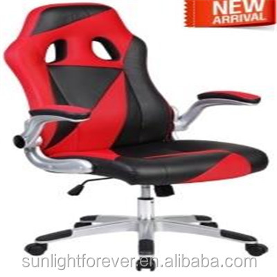 2017 Latest design Executive Racing Style High Back Reclining Chair Gaming Chair Office PU Leather
