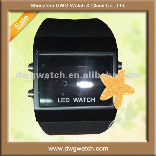 2012 Sport round digital led watches men DWG-D0007