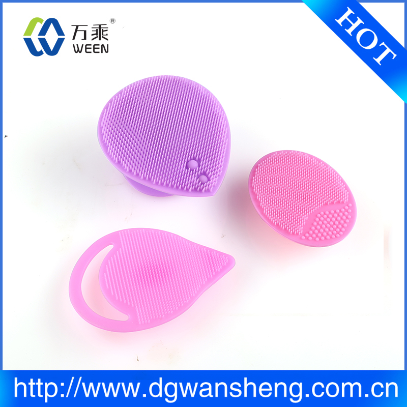 Electric facial cleanser cosmetic silicone facial brush vibrating facial cleanser
