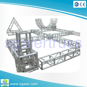 Technology Design Truss Aluminum Beam Square Spigot Tech Truss - Buy Tech  Truss,Truss Design Software,Aluminum Studio Truss Product on Alibaba com