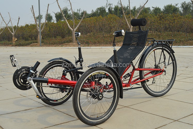 Amusing 3 wheel recumbent style adult bike