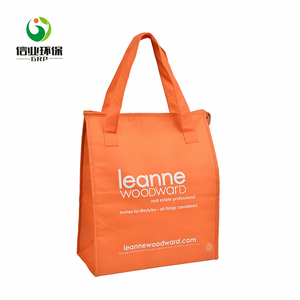xiamen non woven portable lunch cooler warmer thermo bags for food delivery