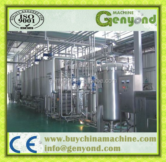pasteurized milk production line / milk machine