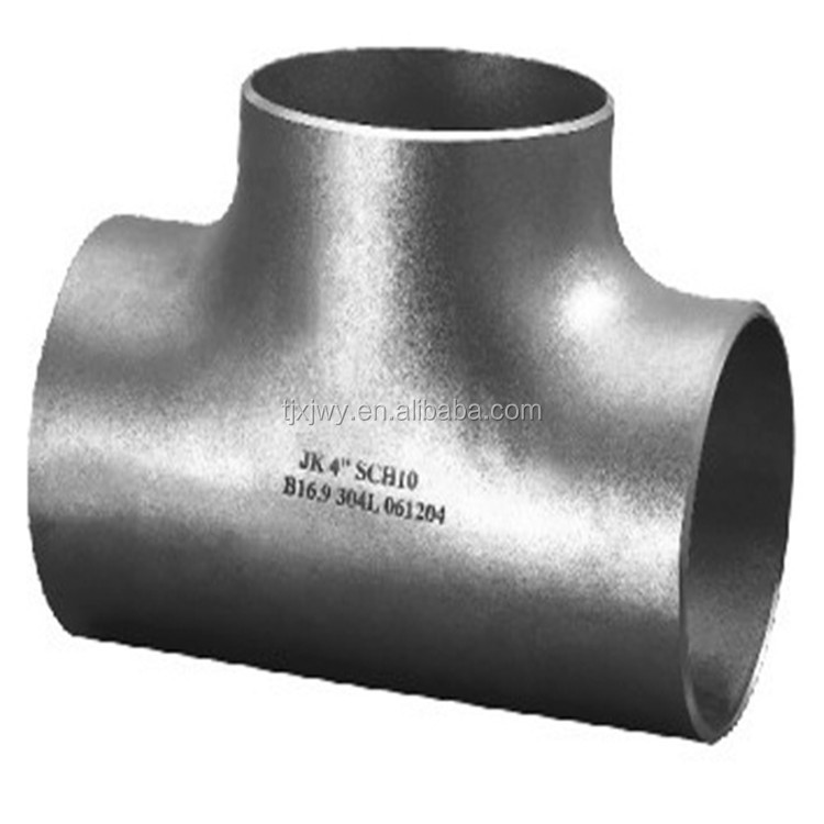 Stainless Steel Quick T Tee Three Way Pipe Connection Joint Fitting