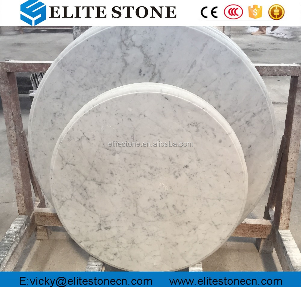 Italian Carrara White Marble Table Top,Round Marble Countertop   Buy China  Grey Marble,Marble Countertop,Countertop Product On Alibaba.com