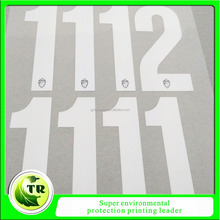 soccer heat transfer numbers,iron on numbers on jersey