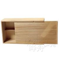 natural wine wooden box