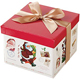 best Christmas gift recyclable cheap cardboard paper packaging cake box