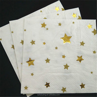 Foil Star Paper Napkin for Party Decoration