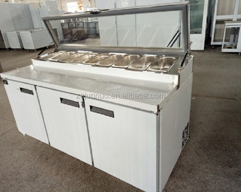 2100 Commercia lrefrigerated salad display