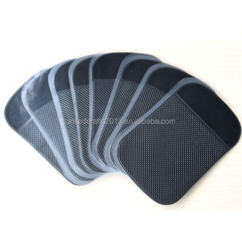 High quality Anti Slip Pad pu gel car dashboard sticky anti slip phone pad