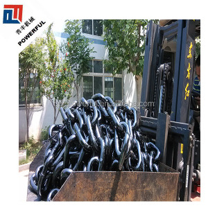 GRADE 1, GRADE 2, GRADE 3 SUPPLY STUDLESS LINK MARINE STEEL ANCHOR CHAIN