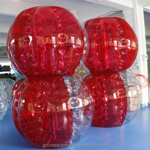 Offer highest quality TPU inflatable bumper ball soccer bubble toys