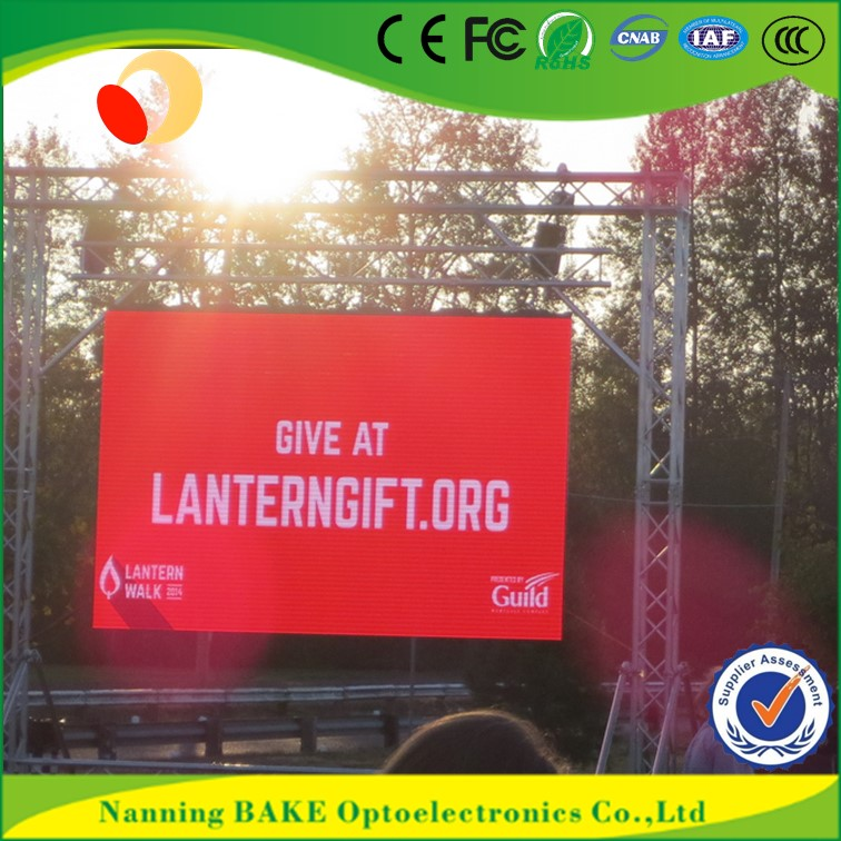 P6 outdoor rental stage seamless smd outdoor p6 led display aluminumn