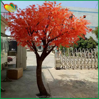 Landscaping high quality lifelike artificial red maple tree