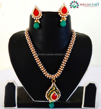 Indian wholesale kundan pendant set polki pendent set fashion indian wholesale kundan pendant set polki pendent set fashion jewelry imitation jewelry aloadofball Images