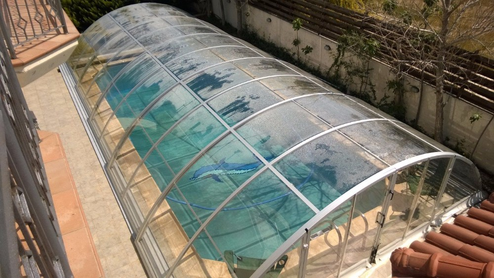 Hard Telescopic Pool Covers For Inground Swimming Pools