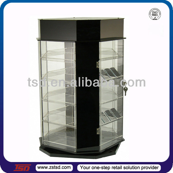 Tsd A622 Custom Retail Store Countertop Rotating Acrylic