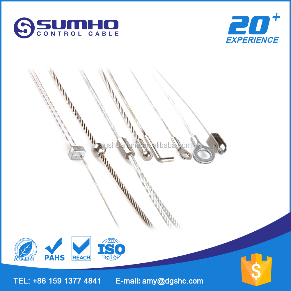 Steel Wire Cable With Swaged End Terminal, Steel Wire Cable With ...