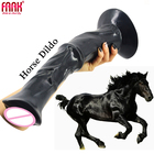 Over 12 Inch Super Long Huge Realistic Animal Dildo Sex Toys Horse Penis With Sucker Horse Dildos Sex Toy For Women