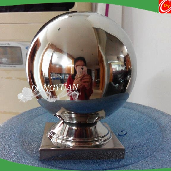 stainless steel stair handrail ball/ stair decoration ball