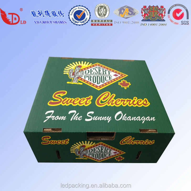 corrugated carton box for pineapple carton box,mango packing boxes