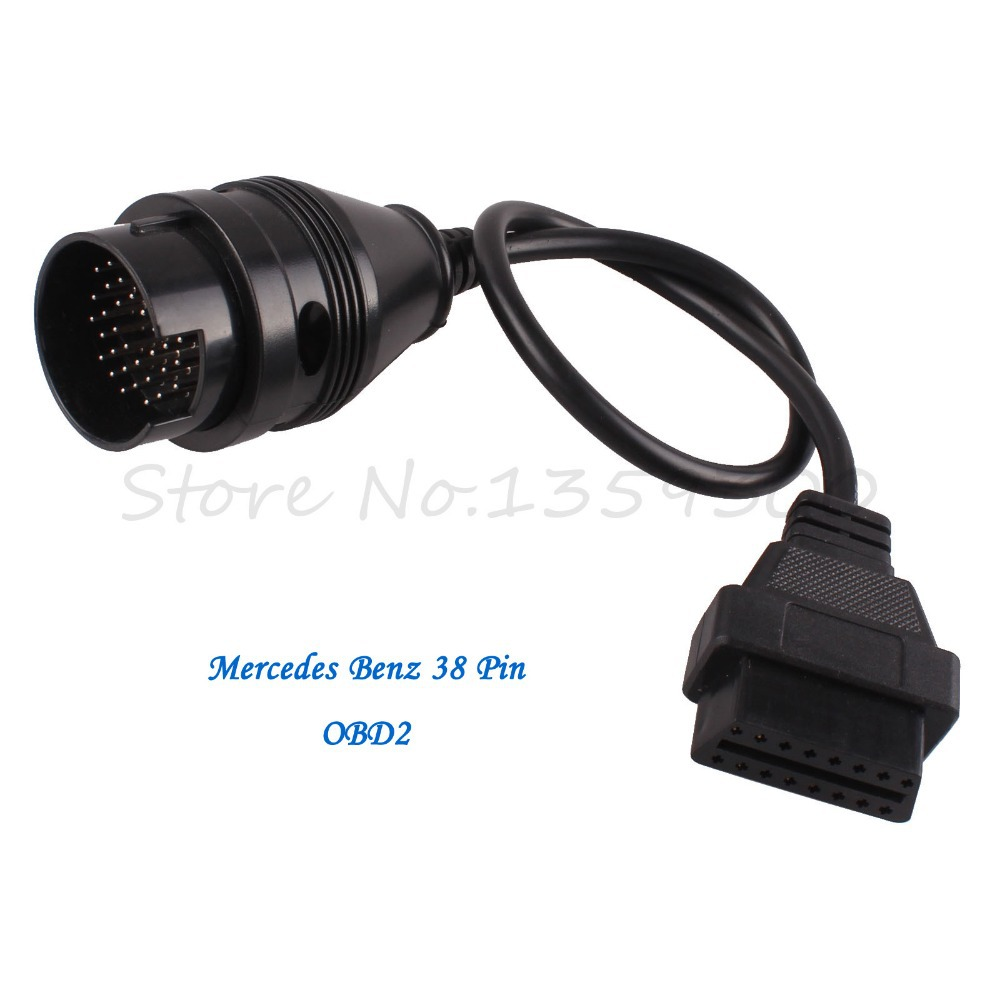 Pin On Mercedes Benz: For Mercedes Benz MB 38 Pin 38Pin Male To OBD OBD2 OBDII