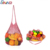 Fruits And Vegetables Shopping Cotton Net Mesh Bag