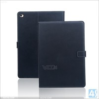 For apple ipad air 2 case leather with many credit cards slot