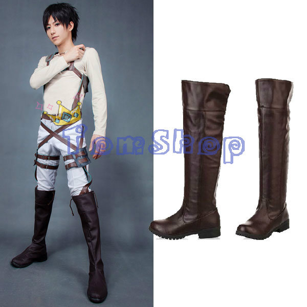 Young Eren Jaeger Cosplay Wholesale Attack on Ti...