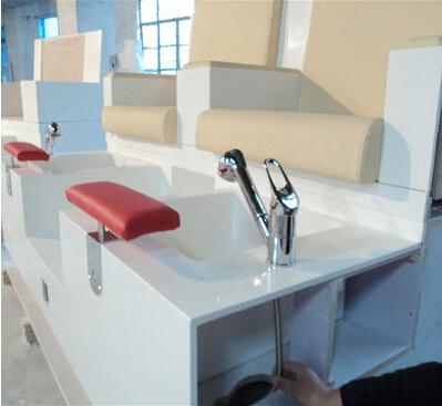 Salon Parts Spa Equipment With Faucet Footsie Bath Spa Pedicure ...
