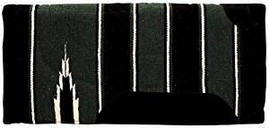 Weaver Leather Economy Felt Lined Navajo Saddle Pad, Assorted Colors by Weaver Leather