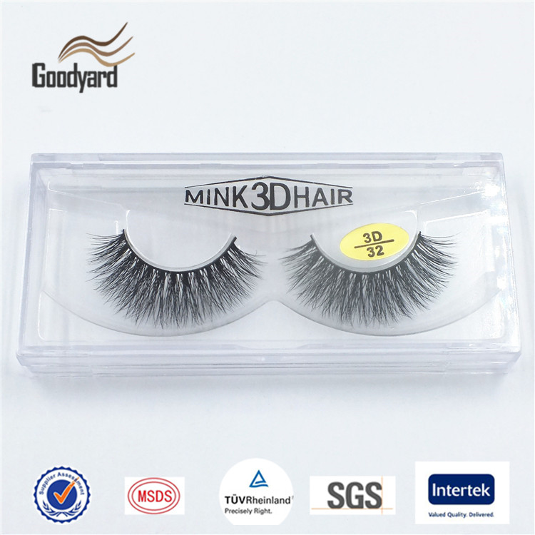 Light Weight And More Natural Looking 3D Volume Mink Individual Strip Eye Lash