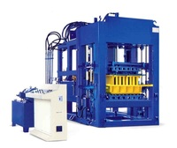 Hydraulic press QT8-15 automatic cement block making machine