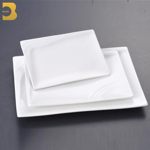 "12""14"" porcelain rectangle crockery restaurant eco ware dishes"