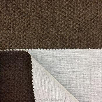 100 Polyester Sofa Fabric Soft Velvet Cationic Upholstery